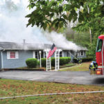 Fire causes heavy damage