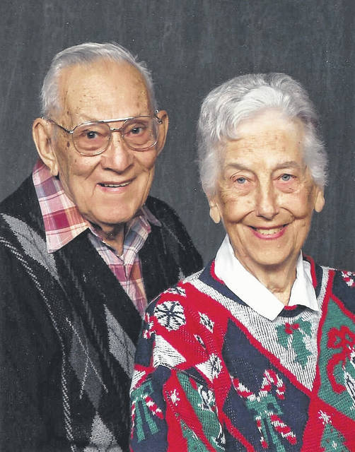 Provided photo H. Melvin and Wilda (Biser) Funderburg were married on Oct. 25, 1947.