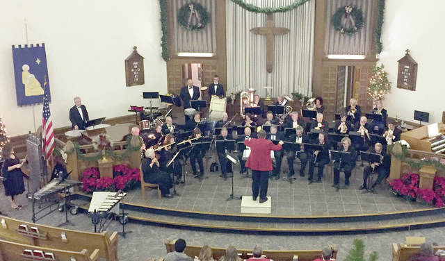 """Provided photo The Piqua Civic Band will celebrate the holiday season with a concert titled """"Joyful Sounds of the Season"""" at 3 p.m. Sunday Dec. 1 at Westminster Presbyterian Church in Piqua."""