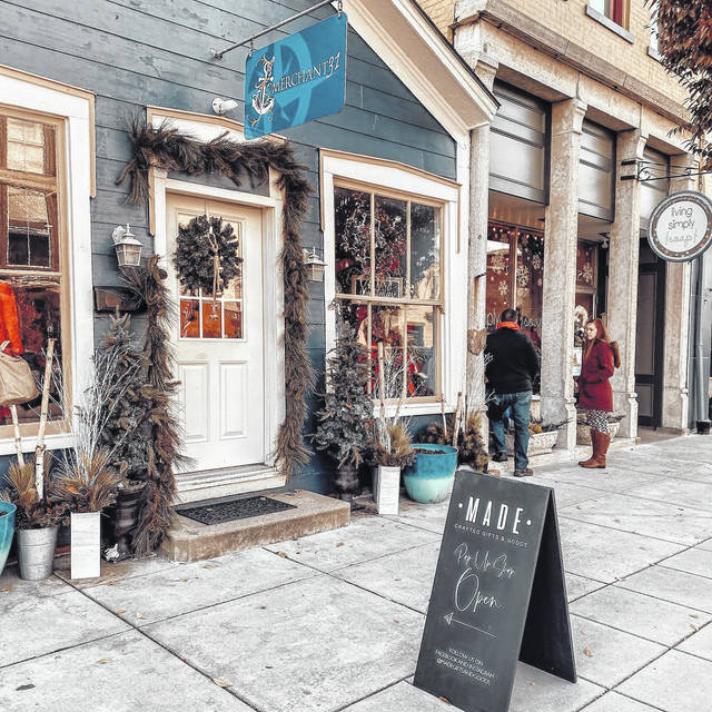 Provided photo Etsy shops BittyBees3, GeminiRainHandmade, SeventhandPlum, and SarahGCreative have opened up a pop-up shop on the second floor of the Merchant31, located at 114 E. Main St in Tipp City.