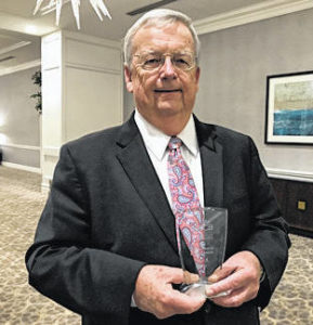 Troy's Steve Baker honored for Riverside service by state agency