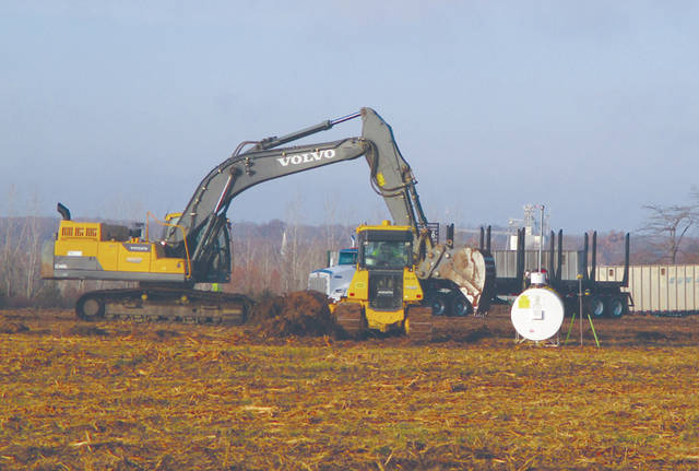 Susie Spitler | For Miami Valley Today Work has begun at the site of the new Stillwater Crossings in West Milton.