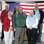 Retiring township employees honored