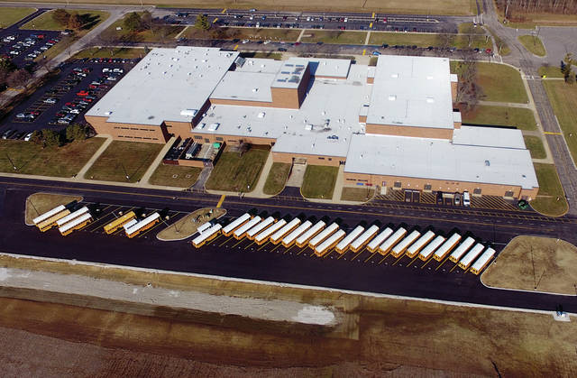 The new bus parking area for Piqua City Schools is now in operation. The facility, located behind Piqua High School, is adjacent to the new Piqua City Schools Transportation Department offices. The parking area will accommodate 33 school buses and is equipped with ballards providing a safe electric hookup for each bus. Superintendent Dwayne Thompson said the new facility is better than the former location as it is already equipped with better lighting and security as well as being more efficient. ©2020 Miami Valley Today. All rights reserved.