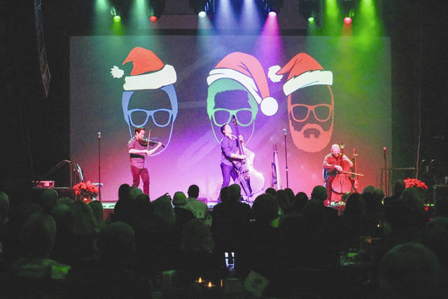 Provided photo Simply Three performs in front of an audience of over 240 at The Edison Foundation's 22nd annual Holiday Evening at Edison State.