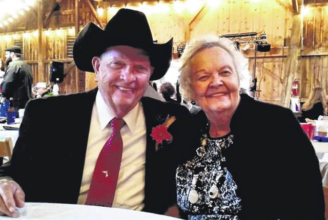 Provided photo Ron and Jeanie Ledford of Piqua celebrated their 60th wedding anniversary on Jan. 2.