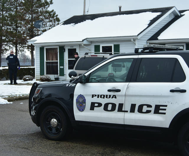 Piqua police investigate a Saturday afternoon fatal shooting on Fairfax Ave.
