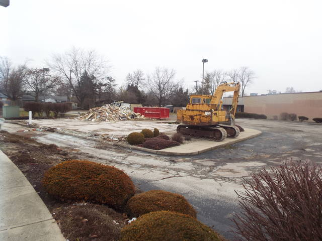 The site of the former location of Taco Bell, which has since relocated to a new location on West Main Street in Tipp City. The former location was recently demolished.