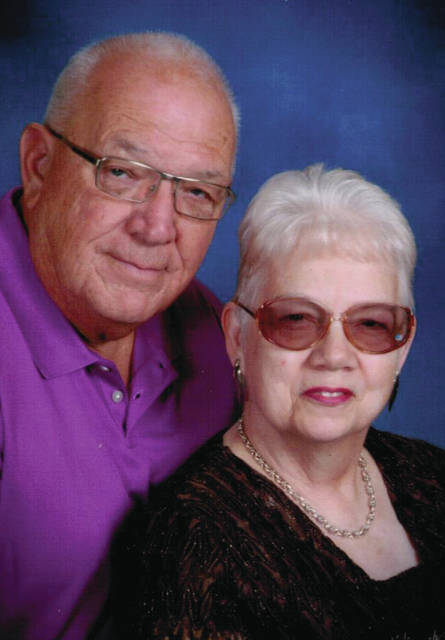 Harry and Nancy (Schlotterbeck) Congdon of Piqua were married on Feb. 27, 1960, in Greenup, Ky.