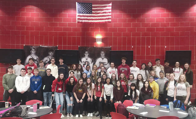 Provided photo Troy High School will induct 54 new members into the National Honor Society on March 5.