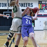 Miami East girls season ends with loss to Anna