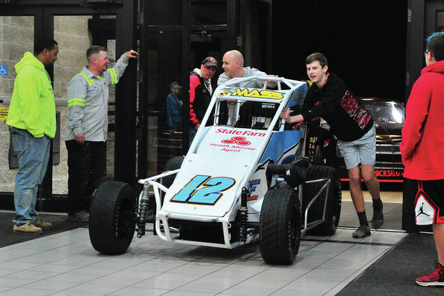 Still on this weekend is the annual Race Cars and Future Stars at the Miami Valley Centre Mall.