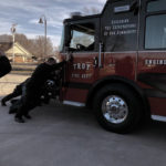 'Push-in' ceremony for Troy's new fire engine