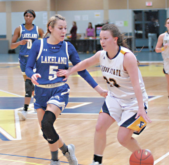 Rob Kiser|MVT File Photo Edison State's Allison Siefring was named third team All-American by World Exposure Basketball Report.