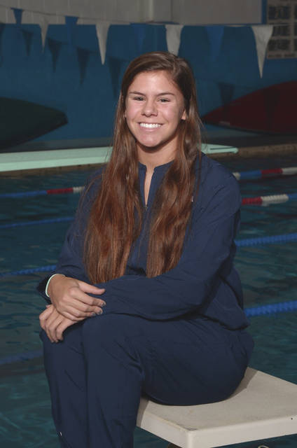 Photo Provided Piqua's Colleen Cox was named MVL Girls Swimmer of the Year.