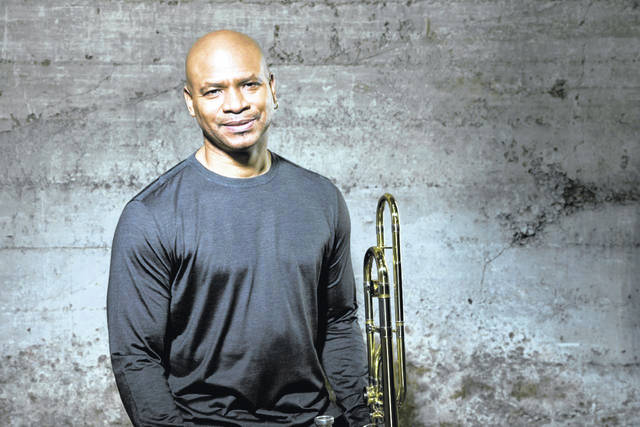 Provided photo Trombonist Robin Eubanks will be performing at the Hayner at 7 p.m. Saturday, March 21.