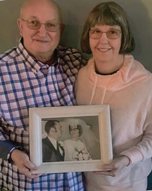 David and Rosa Rector of Tipp City are celebrating their 50th wedding anniversary.