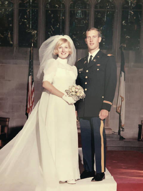 Ron and Cindy Pearson were married on May 16, 1970.