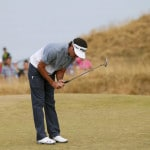 The Latest: Dustin Johnson shoots opening 65 at US Open