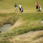 Stenson, Johnson share US Open lead