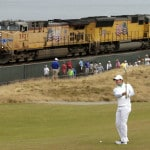 Rumble on the rails part of soundtrack to this US Open