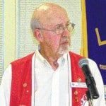 Lions welcome new president