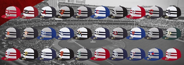 b7e41a40 Major League Baseball and New Era, the official on-field cap of MLB,  revealed a unique cap collection for the 86th All-Star Game, which will be  held July 14 ...
