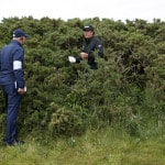 The Latest: That's a wrap! British Open wraps up 1st round