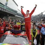Busch stays cool under pressure to get elusive Indy victory