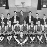 1946-47 Reesville High School basketball