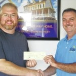Falgner donates for Blan band