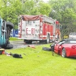 One injured in head-on wreck
