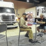 Truck expo continues today