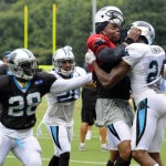 New twist: Stars mixing it up in NFL training camp fights