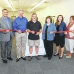 Ribbon-cutting for Blanchester Appliance