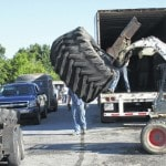 30 tons of tires recycled