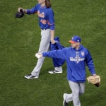 Cueto for Royals, deGrom for Mets in Game 2 of World Series