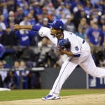 Volquez loses father before World Series start