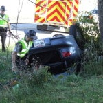 Two injured, one arrested in SR 134 wreck