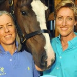 Equine clinic for both horse, rider