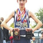 Browning 6th in MS state meet