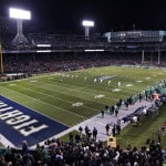 No. 5 Notre Dame beats Boston College 19-16 at Fenway Park