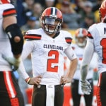 Johnny Manziel benched by Browns for off-field antics