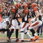 RB Jeremy Hill has best game in Bengals' throwback win