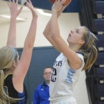 Ladycats shrug off slow start, win 48-33