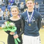 Evans, Richardson wear crowns at BHS Homecoming