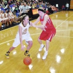 Lady Mustangs off to district title game Feb. 27