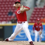 Stephenson wins debut, Bruce powers Reds to sweep of Phils