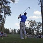 Spieth hangs on to Masters lead, but just barely