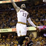LeBron, Cavs stay perfect, blow out Raptors 115-84 in Game 1